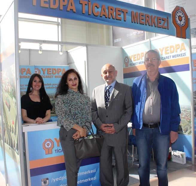YEDPA Ticaret merkeziAutomechanika 2016'da yer aldı