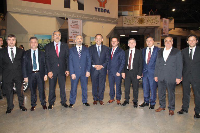 """Bakan Özhaseki'den YEDPA'lılara: """" çözüm önerisini sunacağız"""""""