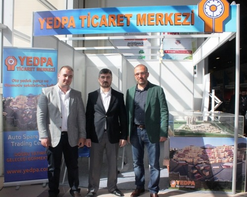YEDPA Ticaret merkezine Automechanika 2015'te büyük ilgi