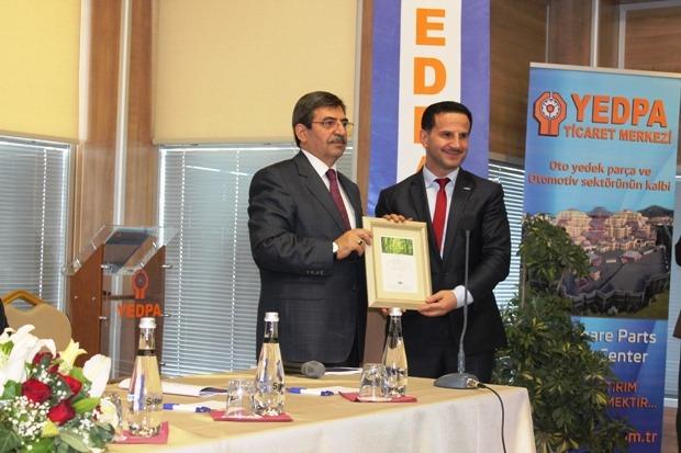 YEDPA Olağan Genel Kurulu İdris Güllüce katılımı ile gerçekleşti