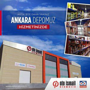OTO İSMAİL OTOMOTİV ANKARA DEPOSUNU HİZMETE AÇTI!